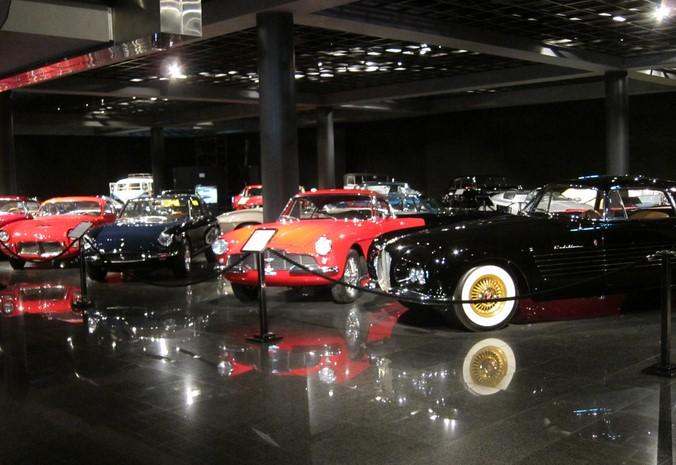 Supercar museum